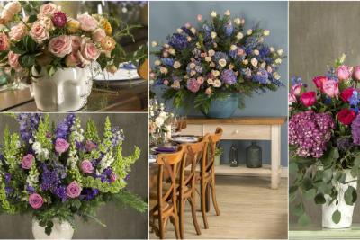 ¿Le gustan las flores? Decore su casa con ellas