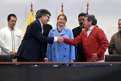 Hoy se reanuda la mesa de negociación entre el Gobierno y el Eln