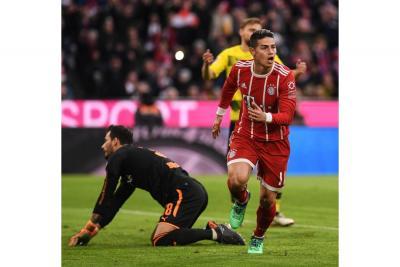 Bayern Múnich pagaría el pase de James Rodríguez