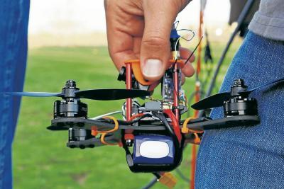 Los drones se salen  de control en Brasil