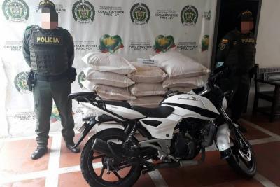 Policía captura a ladrones de panela pulverizada