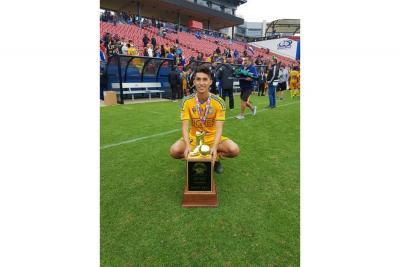 Sandoval, campeón en Estados Unidos