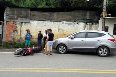 Tres accidentes con saldo de cinco heridos en Socorro