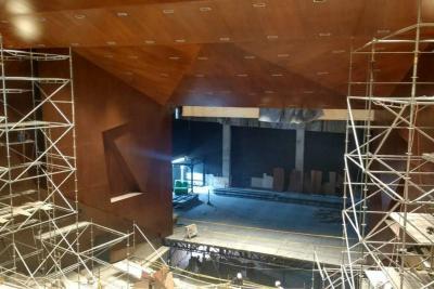 Así van las obras del Teatro Santander