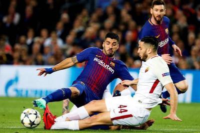 Barcelona venció 4-1 a la Roma y da un paso gigante a las semifinales de 'Champions'