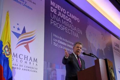 Presidente Santos afirma que recursos para la paz se manejan con transparencia