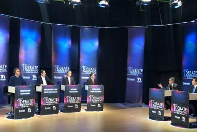 Así fue el primer gran debate presidencial