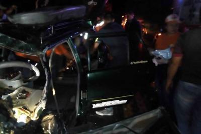 Dos personas resultaron gravemente heridas en accidente vial en Santander