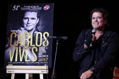 Así será la participación de Carlos Vives en el Festival Vallenato