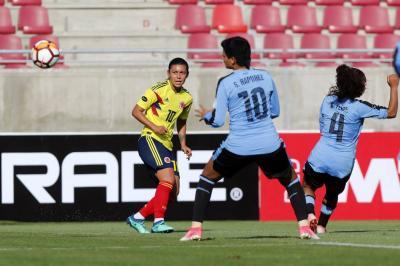 Colombia se estrenó con goleada 7-0 ante Uruguay