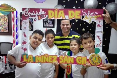 Inició celebración del mes de los niños en la 'Perla del Fonce'