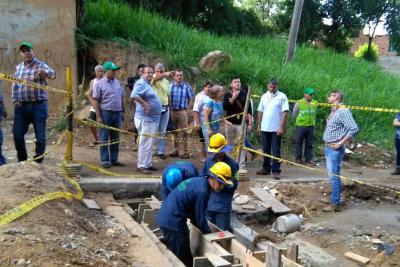 Medida cautelar da 48 horas para protección por lluvias a tres barrios de Bucaramanga