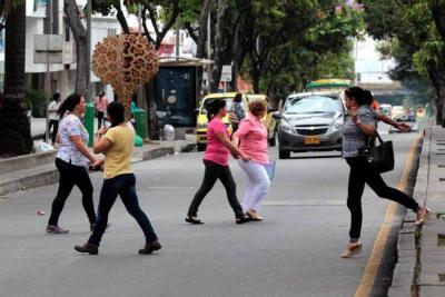 79 peatones han muerto en los últimos tres años en Bucaramanga