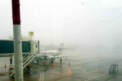 Tras cierre de tres horas, aeropuerto Palonegro de Bucaramanga ya opera con normalidad