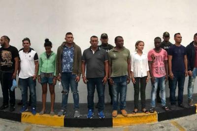 Capturaron a 57 integrantes del 'Clan del Golfo' en la operación Agamenón II