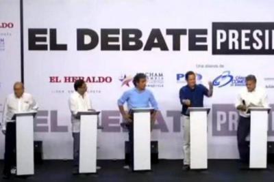 Si se lo perdió, vea el candente debate presidencial en el Caribe