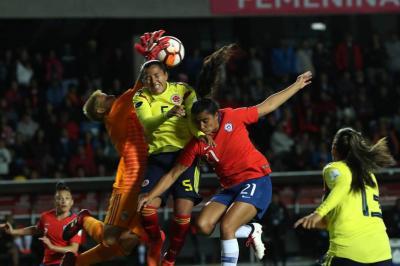 Colombia dejó escapar la victoria ante Chile