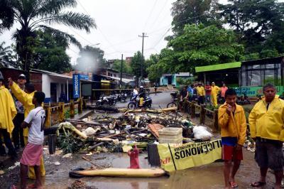 Inundaciones en Pozo Siete causaron protestas