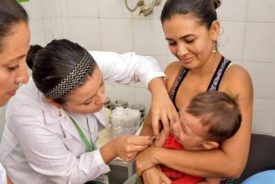 Hoy realizan jornada de vacunación en Santander, contra 21 enfermedades