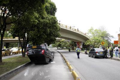 Dos personas lesionadas dejó racha de accidentes en el área