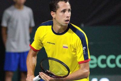 Con dos puntos del Santandereano Daniel Galán, Colombia venció por primera vez a Brasil en la Copa Davis