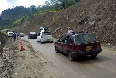 Isagén no responderá por daños de los coluviones en vía a Barrancabermeja