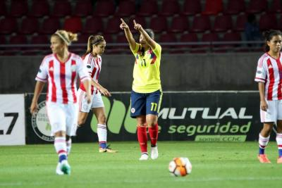 Catalina Usme llevó a Colombia a otra victoria