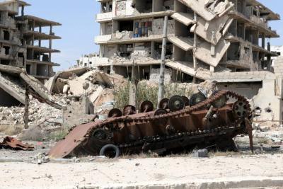 Piden a Trump una respuesta firme tras ataque en Siria