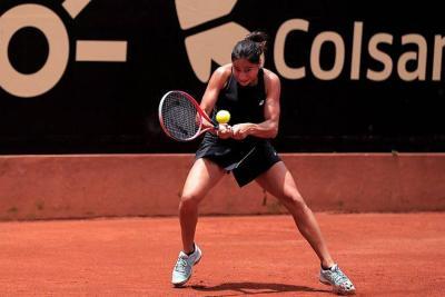 María Herazo avanzó a segunda ronda del Claro Open Colsanitas