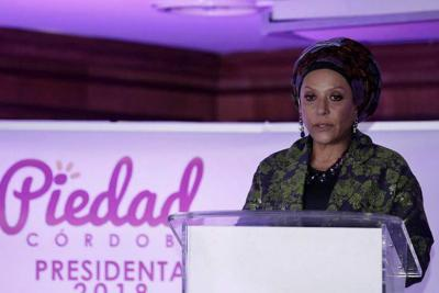 Piedad Córdoba se retiró de la carrera a la presidencia