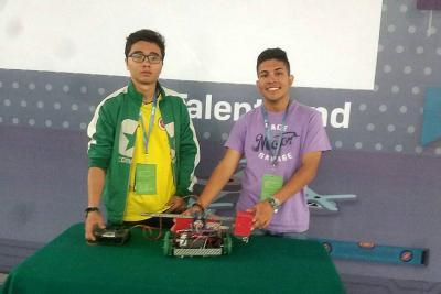 Estudiantes de Bucaramanga ocupan primer lugar en concurso de robótica en México