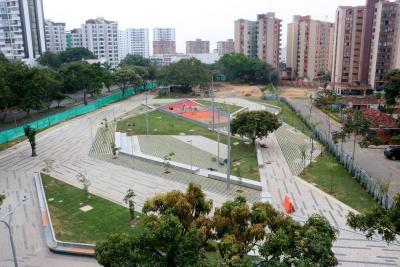 La Alcaldía entregó hoy el Parque de los Sueños en Real de Minas