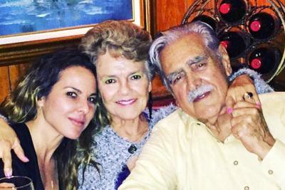 Padres de Kate del Castillo desmienten que su hija tenga un nuevo amor