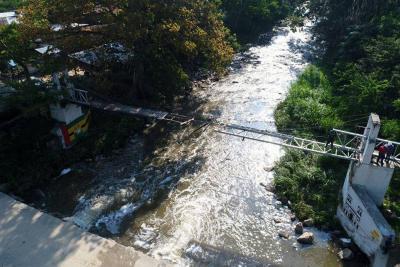 Avanza rehabilitación  de puente El Zancudo
