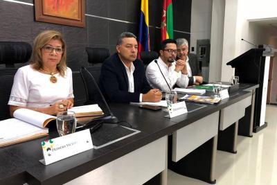 Diputados rajaron informe de gestión del PAE en Santander