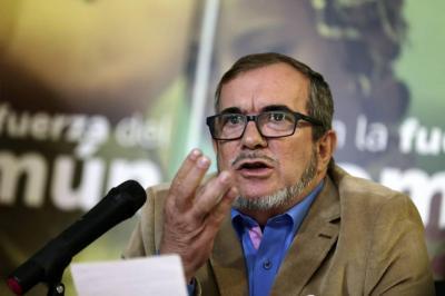 """Gobierno se comprometió a brindar garantías a Santrich"": 'Timochenko'"