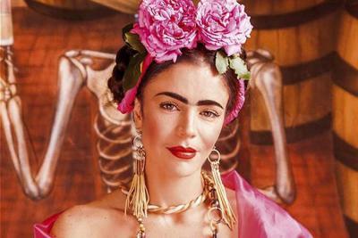 Flora Martínez sigue  apasionada con Frida Kahlo