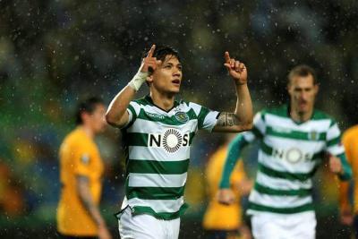 A pesar del gol de Montero, el Sporting fue eliminado por el Atlético de Madrid