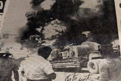 Así fue el otro desastre petrolero en la Lizama de Barrancabermeja hace 52 años