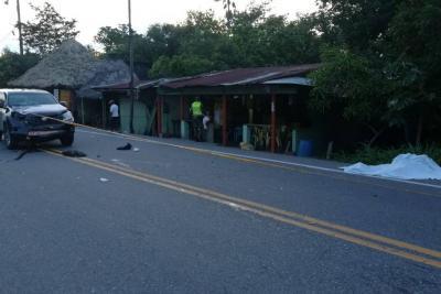 Un adulto mayor murió en accidente de tránsito