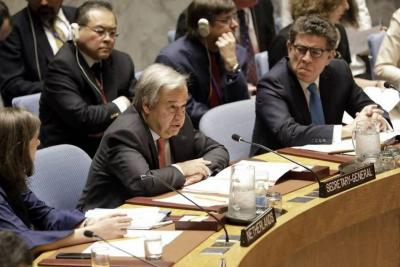 Se profundizan divisiones sobre Siria tras Consejo de Seguridad de la ONU