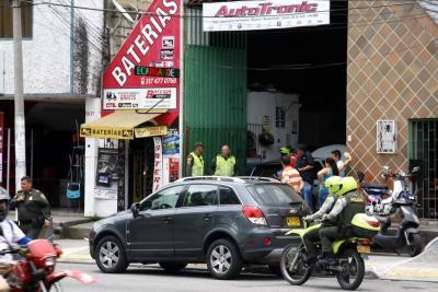 A balazos, un hombre intentó evitar hurto en Bucaramanga