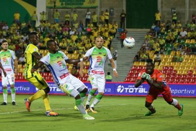 Banguera ahogó el grito de gol del Bucaramanga