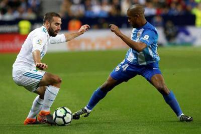 Real Madrid venció al Málaga y volvió al tercer puesto en la Liga Española