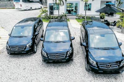 Flota de vans Mercedes Benz, aliada de la empresa nacional