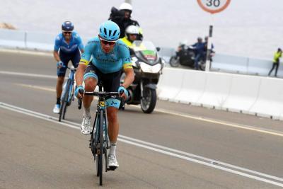 Miguel Ángel López se pone a punto para el Giro de Italia