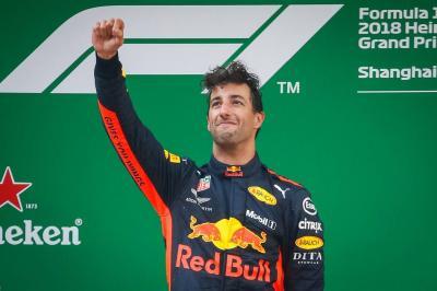 Ricciardo se impuso en el Gran Premio de China