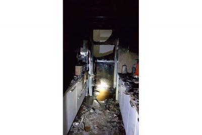 Incendio consumió un apartamento en Sotomayor