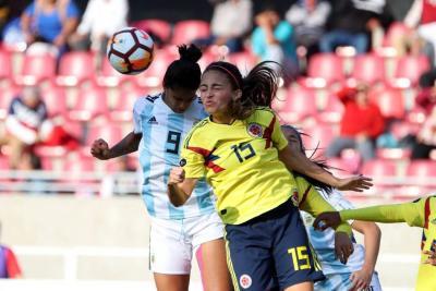 La selección Colombia perdió contra Argentina