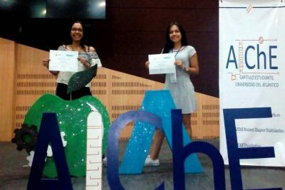 Dos estudiantes santandereanas ganaron concurso internacional de Ingeniería